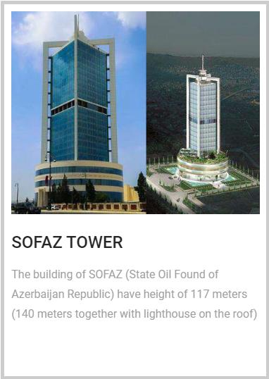 SOFAZ TOWER şəkil
