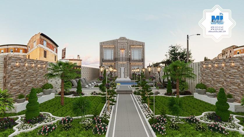 Villa dizaynı şəkil