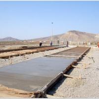 2500 m² dəmir-beton platform