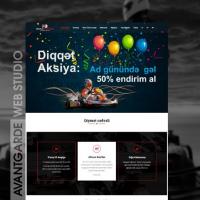 Baku Karting Mərkəzinin rəsmi veb saytı