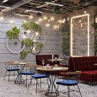 Kafe-Restoran dizaynı