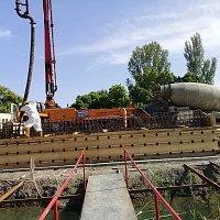 Mingəçevir rayonunda Qarabağ kanalı üzərində 65.20metr uzunluğunda inşa etdiyi körpü