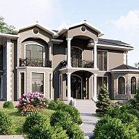 Mərdəkanda dənizə yaxın tikilən villa