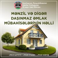 Mənzil və digər daşınmaz əmlak mübahisələri