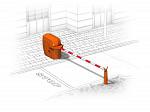 Şlaqbaum barrier sistemi