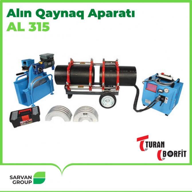 AL 90 - 315 Polietilen Alın Qaynaq Aparatı